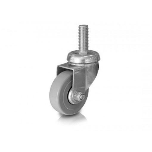 Bútorgörgő AL40SF/GL 40mm szürkegumis csapos