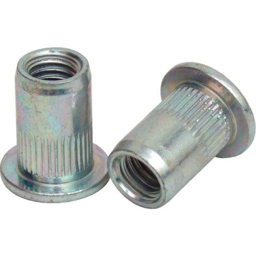 Alumínium szegecs 4x15 laposüllyesztettfejű