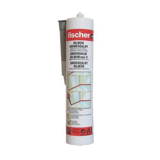 Fischer univ.szilikon fehér 280ml DMS W
