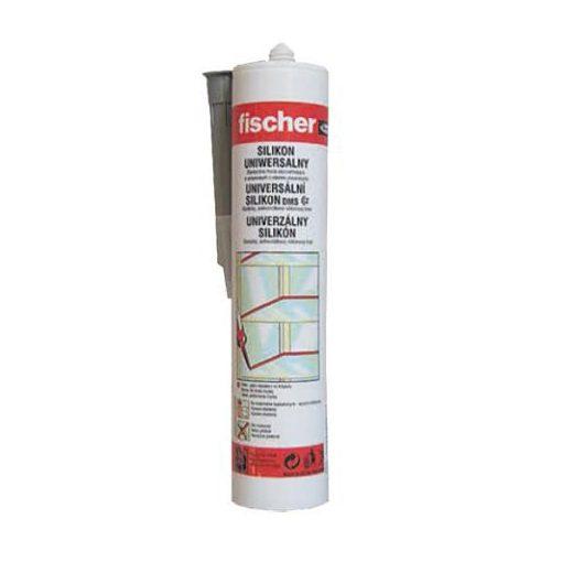 Fischer univ.szilikon fehér 280 ml DMS W