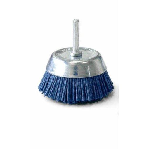 Nylon fazékkefe csapos 70mm kék P180