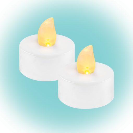 LED-es teamécses, fehér (CD 2/WX)