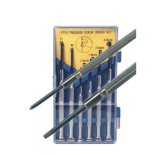 Műszerész csavarhúzókészlet, 6 db-os (CSH 1)