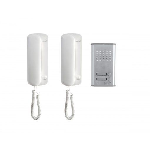 Vezetékes kaputelefon szett, kétlakásos (DP 012)