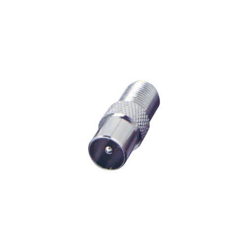 Átalakító, koax dugó-F aljzat (FF 18X)