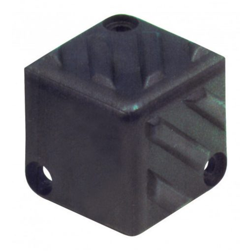 Hangfalsarok, müanyag, 40 x 40 x 40 mm (HT 400)