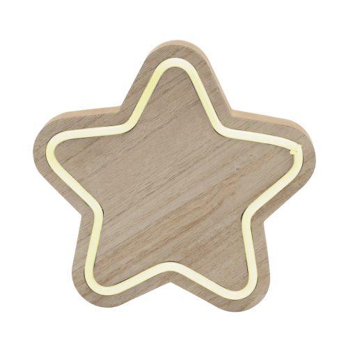 Fa asztali dísz, csillag (KAD 27)