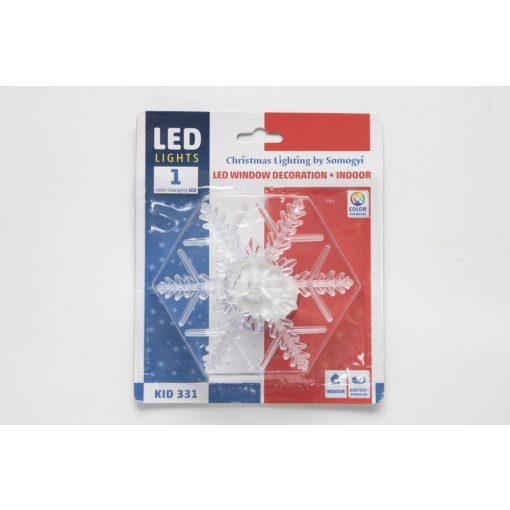 LED-es ablakdísz (KID 331)