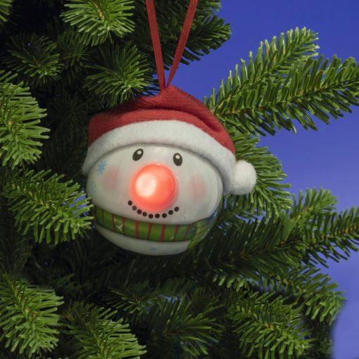 LED-es hóember gömb (KID 65)