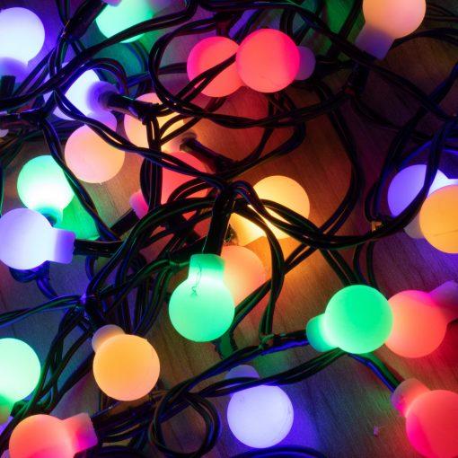 LED-es gömb fényfüzér (KII 50B/M)