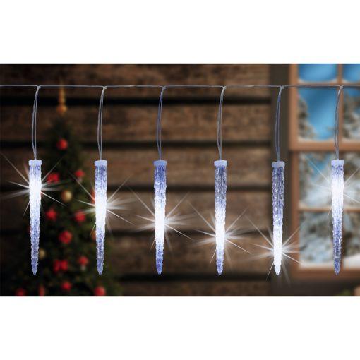 LED-es jégcsap fényfüzér (KJL 35)
