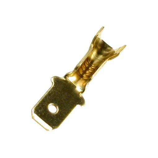 Kábelsaru, 4,8x0,5, dugó,réz (KSD 4,8-0,5/Cu)