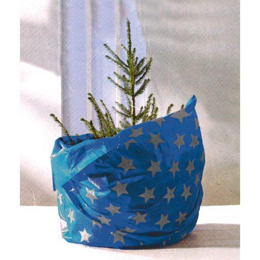 Karácsonyfatakaró, kék (KT 250/BL)