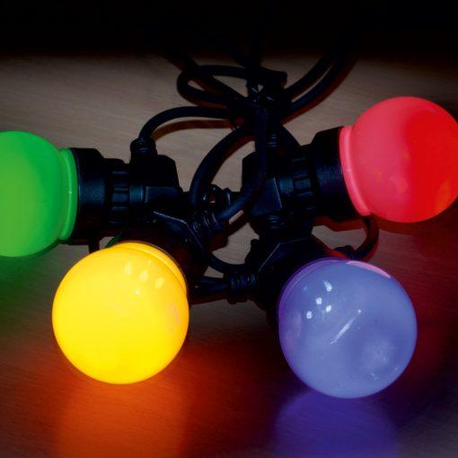 LED-es sorolható party fényfüzér (LPL 10M)