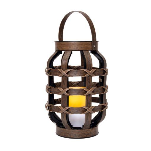 Lámpás LED gyertyával (LTN 21)