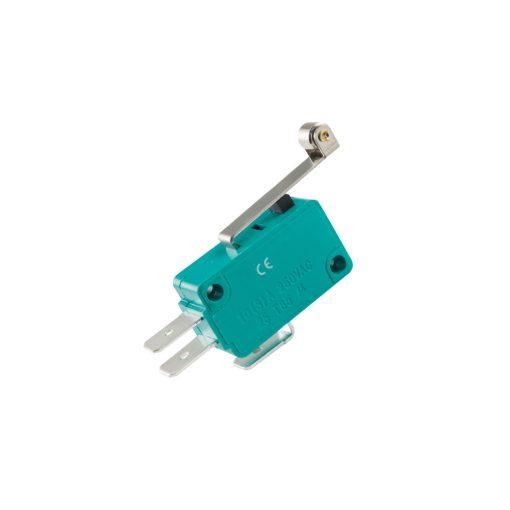 Mikrokapcsoló, 10A, nyomógörgős (MSW 03)