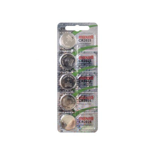 Gombelem, litium, 3V (Maxell CR2025)