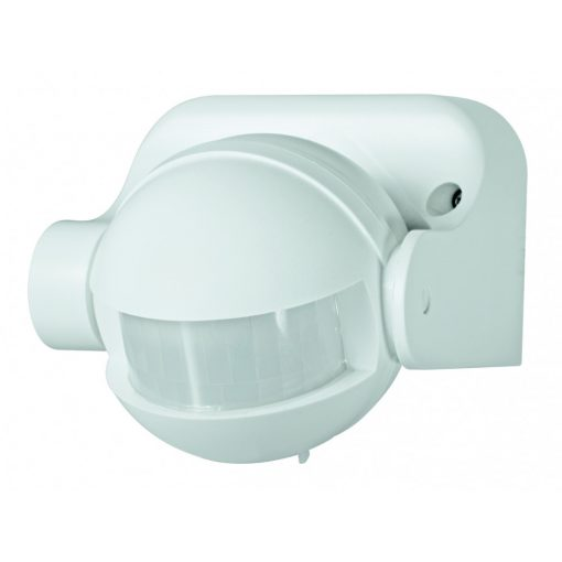 Mozgásérzékelő fali, IP44, fehér (PIR 04/WH)
