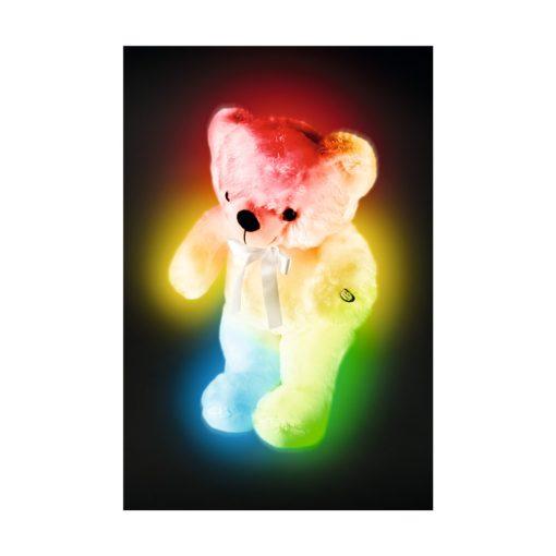 Plüssmedve, 8 LED (PM 01/BG)
