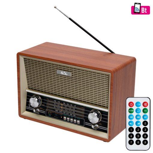Retro asztali rádió és multimédia lejátszó (RRT 4B)