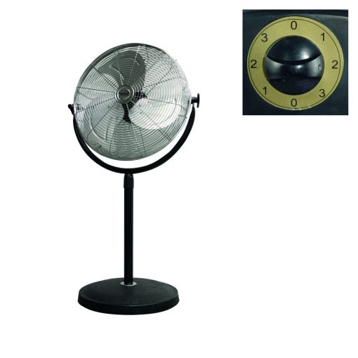Álló fém ventilátor, 45 cm, 100W (SFI 45)