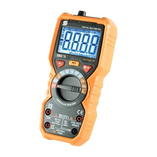 Digitális multiméter (SMA 19)