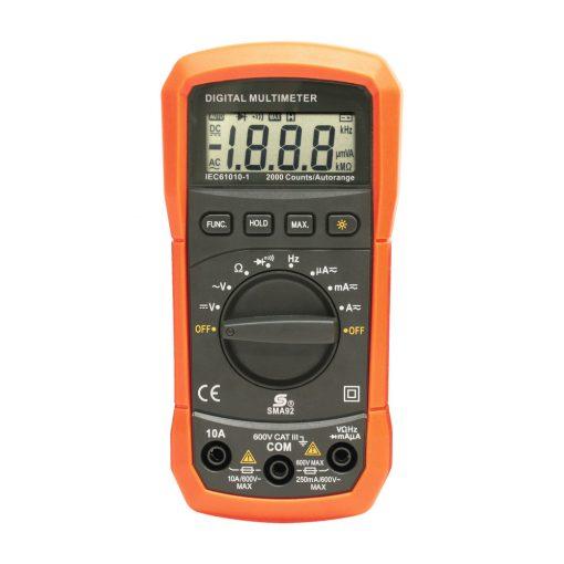 Digitális multiméter (SMA 92)