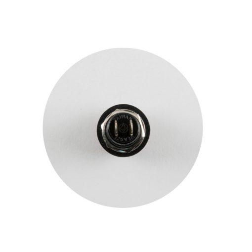 Nyomógomb, 125V/3A - 250V/1A, fekete, záró (SP 10/BK)