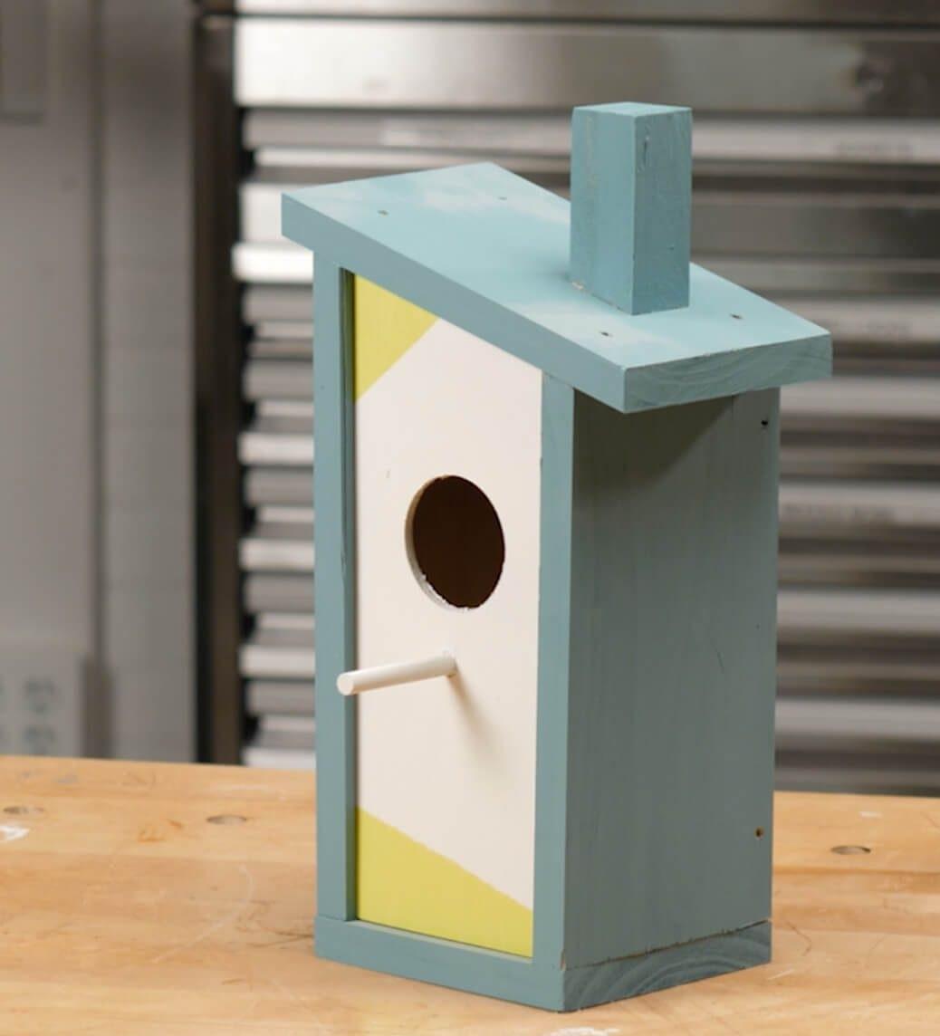 Szombat reggeli workshop: Készíts modern stílusú madárházat