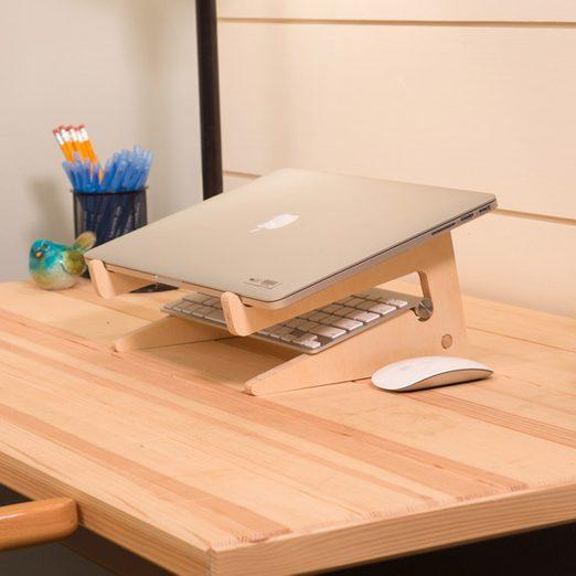 Szombat reggeli workshop: Hordozható laptop tartó állvány