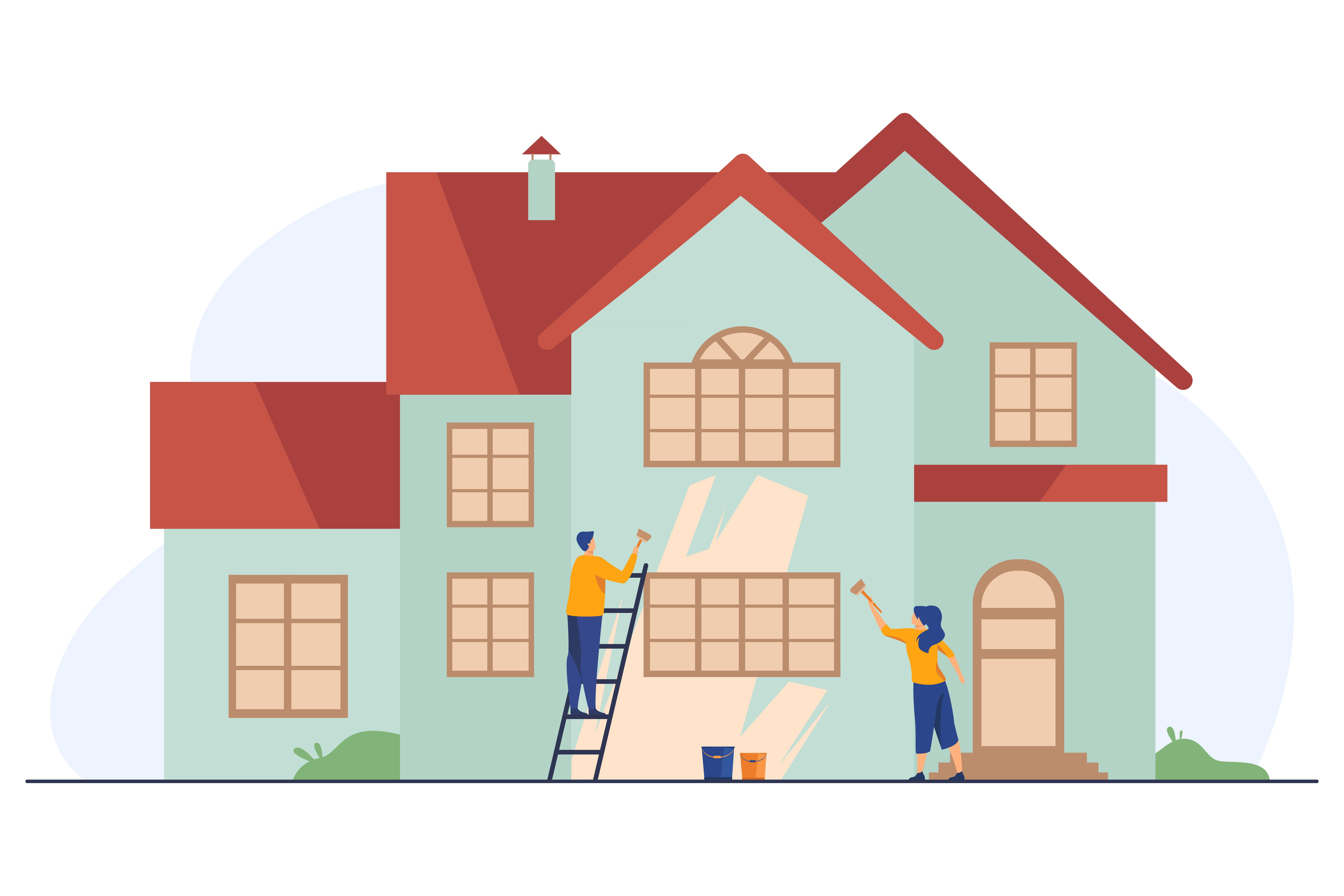 Mennyibe kerül, ha lefestenéd kívülről a házat?