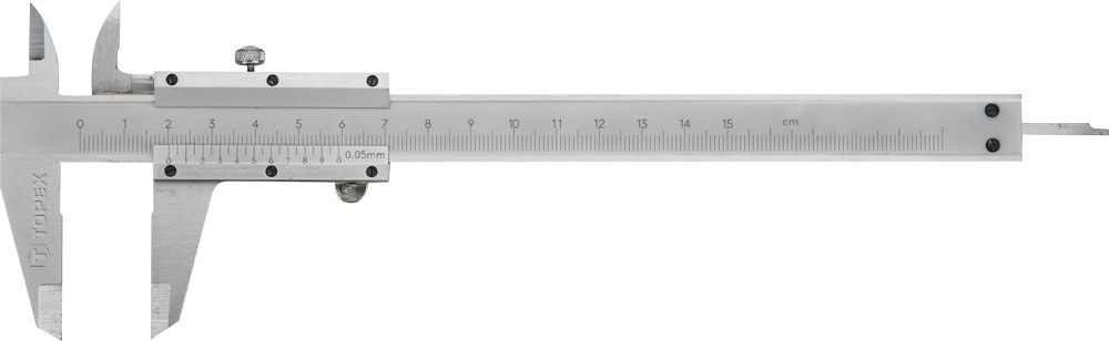 Topex tolómérő 150mm 0.05