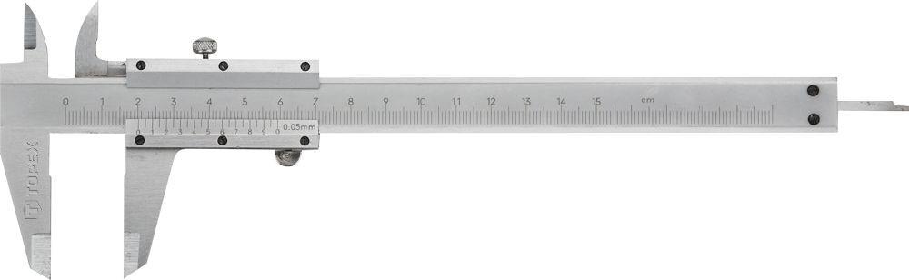 Topex tolómérő 200mm 0.05