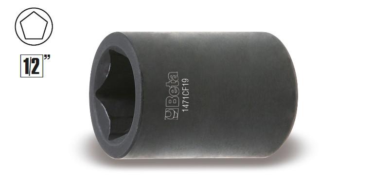 BETA 1471CF 19 Ötszögű-dugókulcs fékszereléshez (BETA 1471 CF19)