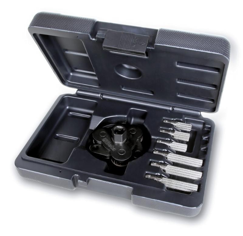 """BETA 1493/C7 Háromkaros önszabályozó kulcs jobbmenetes/balmenetes olajszűrőkhöz cserélhető karokkal (BETA 1493/C7"""")"""