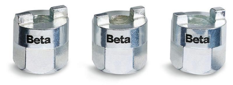 BETA 1557/S3 3 részes lengéscsillapító szerelő készlet, krómozott (BETA 1557/S 3)