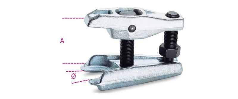 BETA 1559/36 Könnyített gömbfejlehúzó, galvanizált (BETA 1559/36)