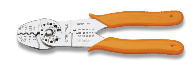 BETA 1603A Saruzófogó nem szigetelt kábelsarukhoz, önzáró modell (BETA 1603A)