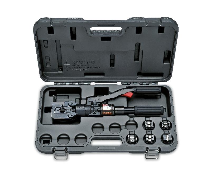 BETA 1609C/C5 Hidraulikus krimpelő fogó készlet kofferban (BETA 1609C/C5)
