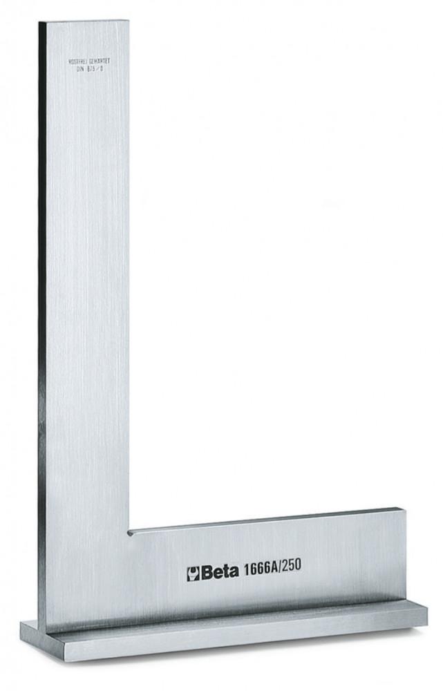 BETA 1666A 200 Talpas precíziós derékszög rozsdamentes acélból, köszörült és tükrösített (BETA 1666A/200)