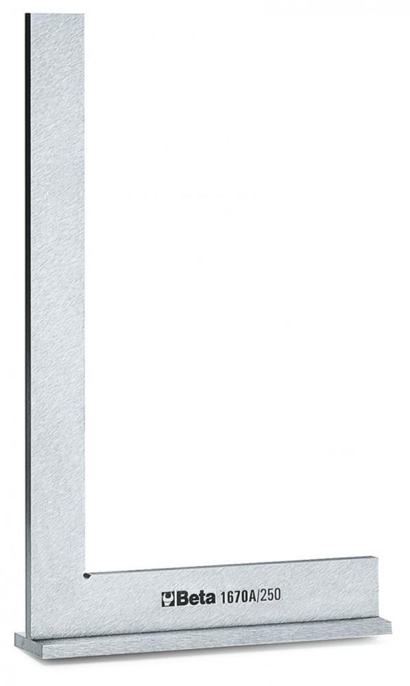 BETA 1670A 250 Talpas precíziós derékszög acélból, köszörült (BETA 1670A/250)