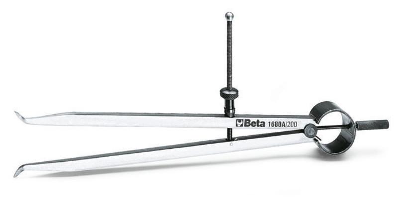 BETA 1680A 200 Belső jelölő körző, edzett acélhegyek (BETA 1680A/200)