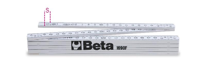 BETA 1690F/2 Üvegszálas colstok Pontossági osztály: III (BETA 1690F/2)