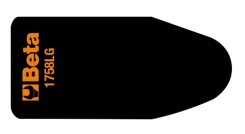 BETA 1758LG Formálható alumínium lemez gumiburkolattal, a folyadékok csatornázásához (BETA 1758LG)